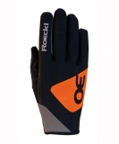 Běžecké rukavice Roeckl Gimo Black/Orange