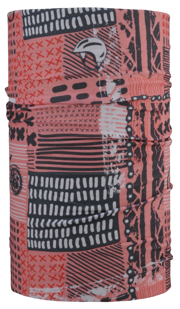 Šátek 4Fun Bike Lady Pink  f5adb91680
