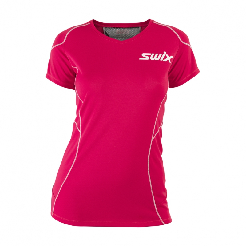 190e7796e125 Dámské triko Swix O2 T-shirt W Fuchsia