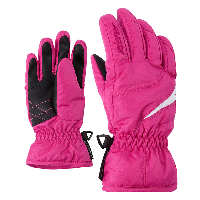 Rukavice Ziener Latina Girls Junior Pop Pink vel.4,5