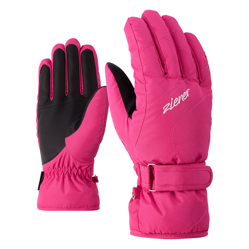 Rukavice Ziener Kaddy Lady Pink vel.7,5