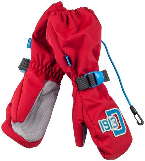 f5bf384c742 Dětské rukavice Didriksons D1913 Biggles Kids červené