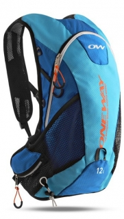 Batoh One Way Run Hydro Back Bag 12L Blue/Orange