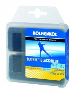 Holmenkol Matrix FX BLACK/BLUE 2x35g
