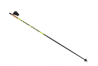 Běžecké hole One Way DIAMOND CROSS 40 Black/Yellow 2017/2018