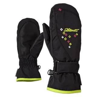 Rukavice Ziener Lisyo Mitten Girls Junior Black