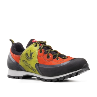Boty Alpina Mjoy Low Red/Green Vibram