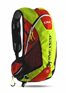 Batoh One Way Run Hydro Back Bag 12L Yellow/Red